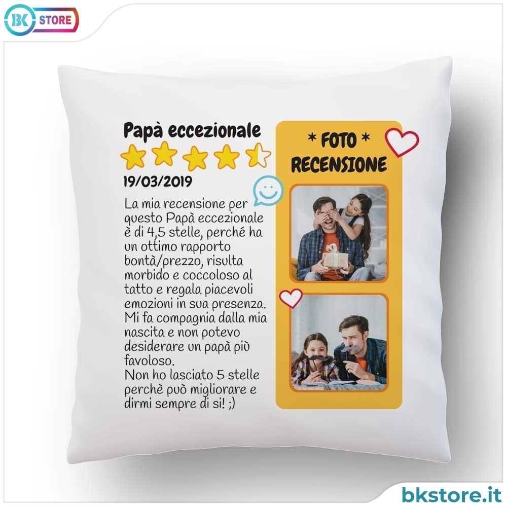 Cuscino Per Il Papa Con Recensione E Foto