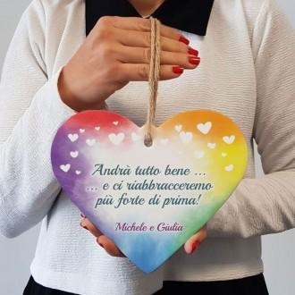 cuore regalo andrà tutto bene