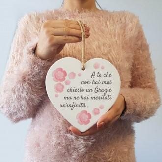 cuore personalizzato mamma