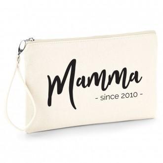 pochette personalizzata mamma since