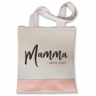 Shopper personalizzata mamma since