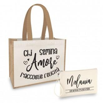 Borsa shopper regalo maestra