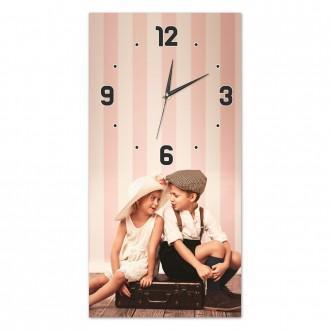 Orologio da parete personalizzato con foto stamap su tela