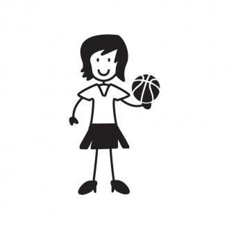 Mamma basket - Famiglia adesiva