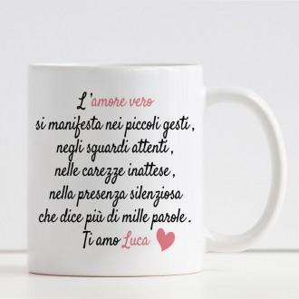 tazza innamorati personalizzata