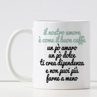 tazza innamorati amanti caffè