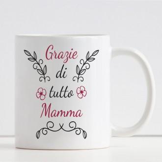 tazza personalizzata con nome per la mamma